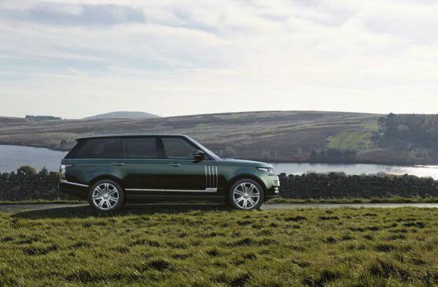 Holland & Holland Range Rover available in the US