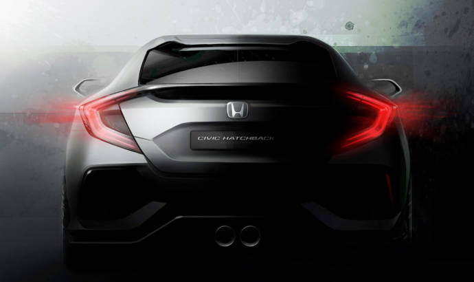 Honda Civic Prototype - First teaser picture