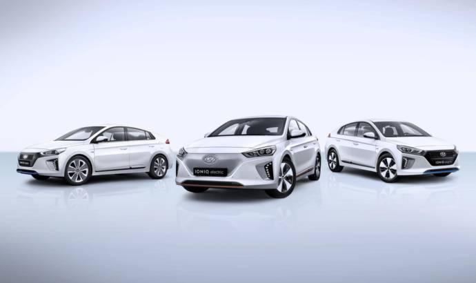Hyundai IONIQ Hybrid, IONIQ Electric and IONIQ Plug-in detailed