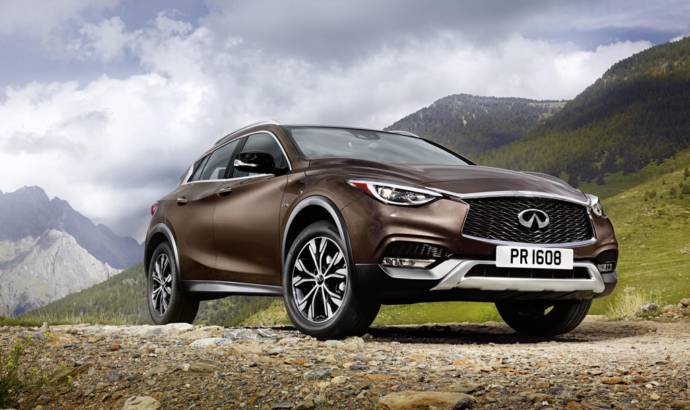 Infiniti QX30 official photos and details