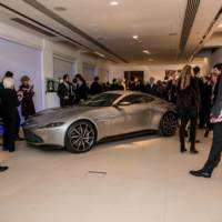 James Bond Aston Martin DB10 sold at an auction