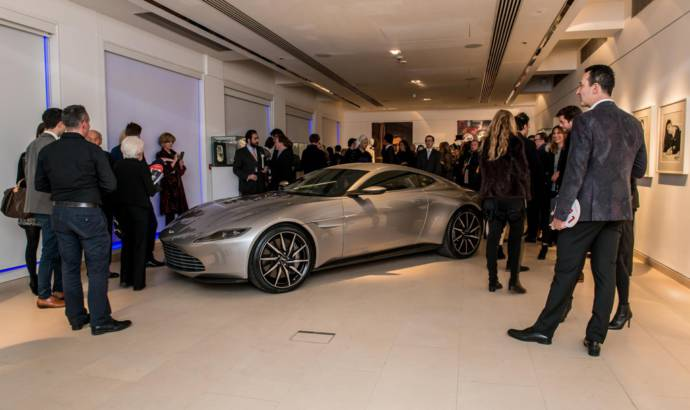 James Bond Aston Martin DB10 sold at an auction