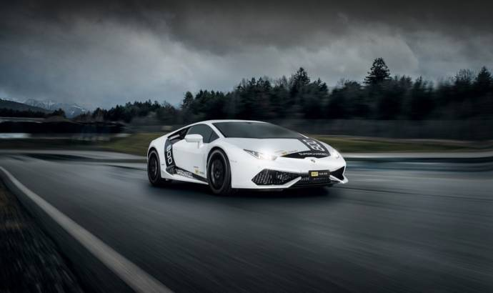 Lamborghini Huracan modified by OCT Tuning
