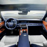 Lexus LC 500h - Official pictures and details