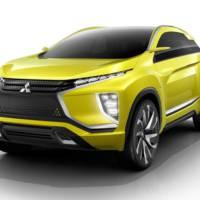 Mitsubishi eX Concept to make European debut in Geneva