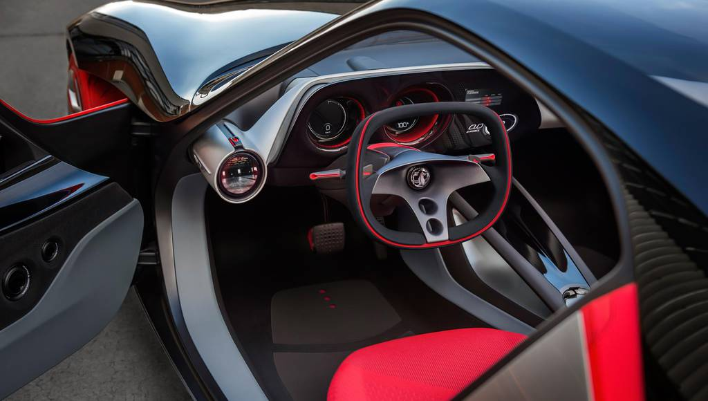 Opel GT Concept interior revealed