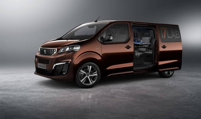 Peugeot i-Lab Traveller Concept officially unveiled