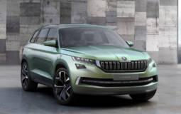Skoda VisionS Concept previews the future Kodiak SUV