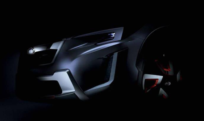 Subaru XV Conept teased ahead of Geneva debut