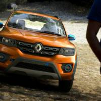 These are the new Renault Kwid Racer and Kwid Climber