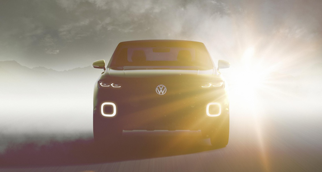 Volkswagen Small SUV concept teased ahead of Geneva
