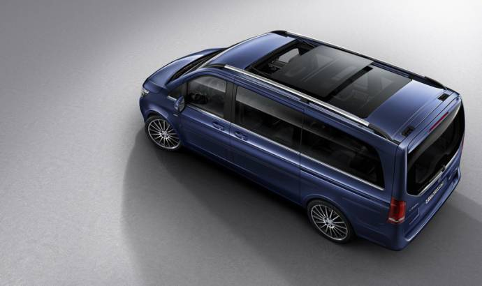 2016 Mercedes-Benz V-Class Exclusive - Official pictures and details