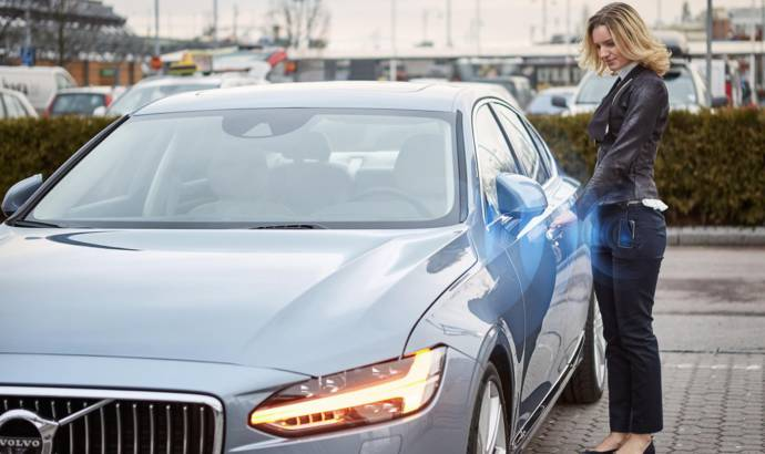 Volvo replaces the car key with a mobile app