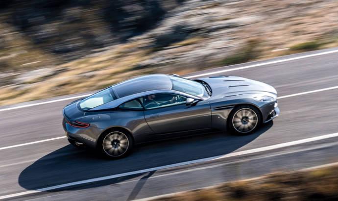 2016 Aston Martin DB11 bows in Geneva