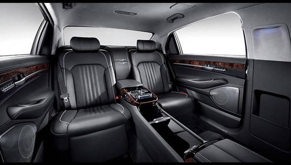 2016 Genesis EQ900L/G90L - This car is longer than a Mercedes-Maybach S-Class