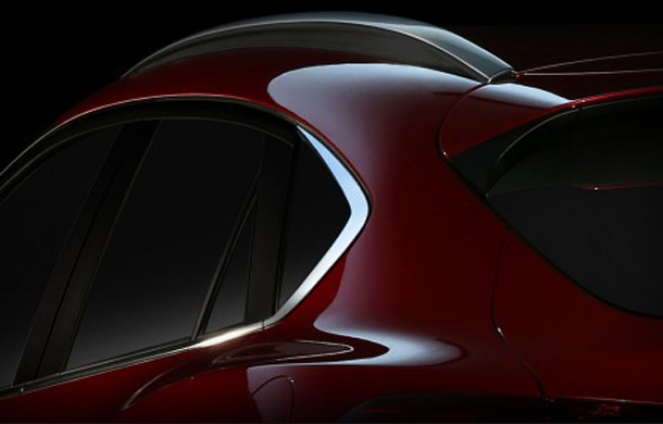 2016 Mazda CX-4 - First teaser picture
