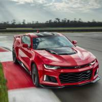 2017 Chevrolet Camaro ZL1 is here. It has 640 HP and a 10 speed gearbox