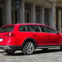2017 Volkswagen Golf Alltrack US Spec - Official pictures and details