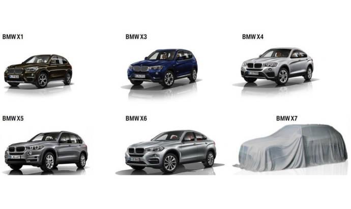 2019 BMW X7 - First official teaser