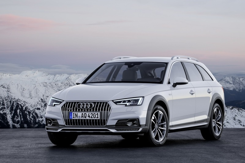 Audi A4 allroad quattro 3.0 TDI is available in Europe