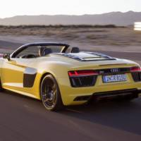 Audi R8 V10 Spyder unveiled in New York