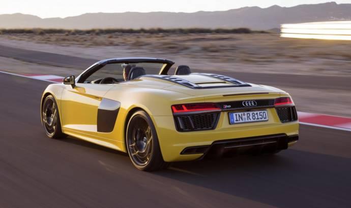 Audi R8 V10 Spyder unveiled in New York