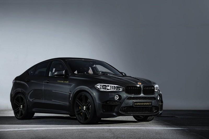 BMW X6 M upgraded to 700 HP