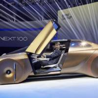 BMW celebrates 100 years with Vision Next 100 Concept