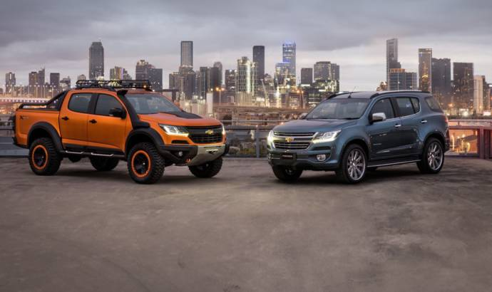 Chevrolet Colorado Xtreme and Trailblazer Premier concepts - Official pictures and details