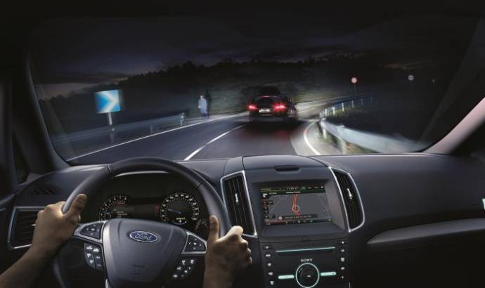 Ford introduces Glare-Free Highbeam technology