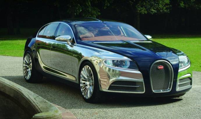 Four-door Bugatti is a possible project