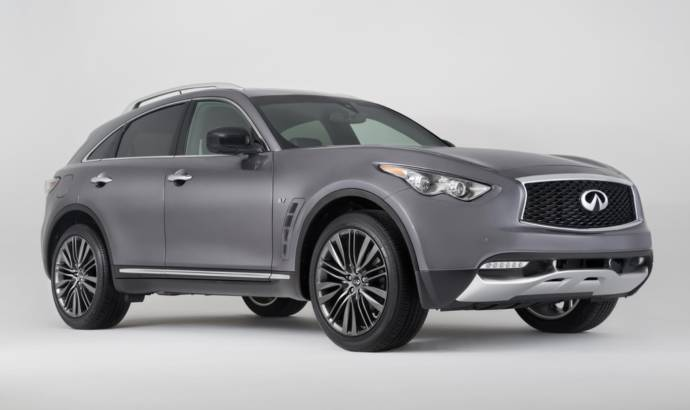 Infiniti QX70 Limited edition unveiled ahead of New York