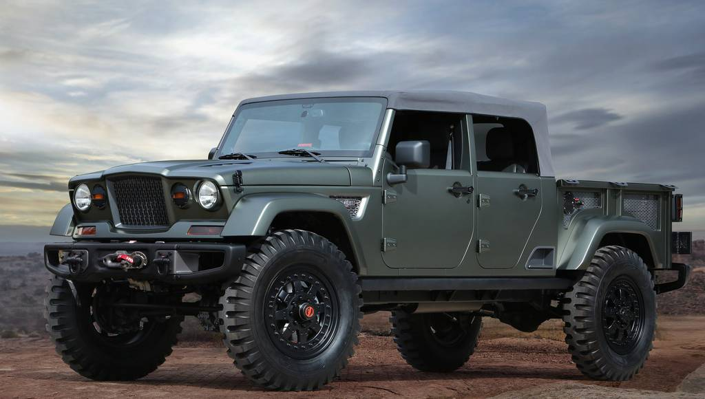 Jeep Crew Chief concept previews the upcoming pickup