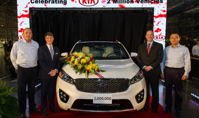 Kia produces its two millionth vehicle in US
