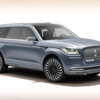 Lincoln Navigator Concept official images and infos