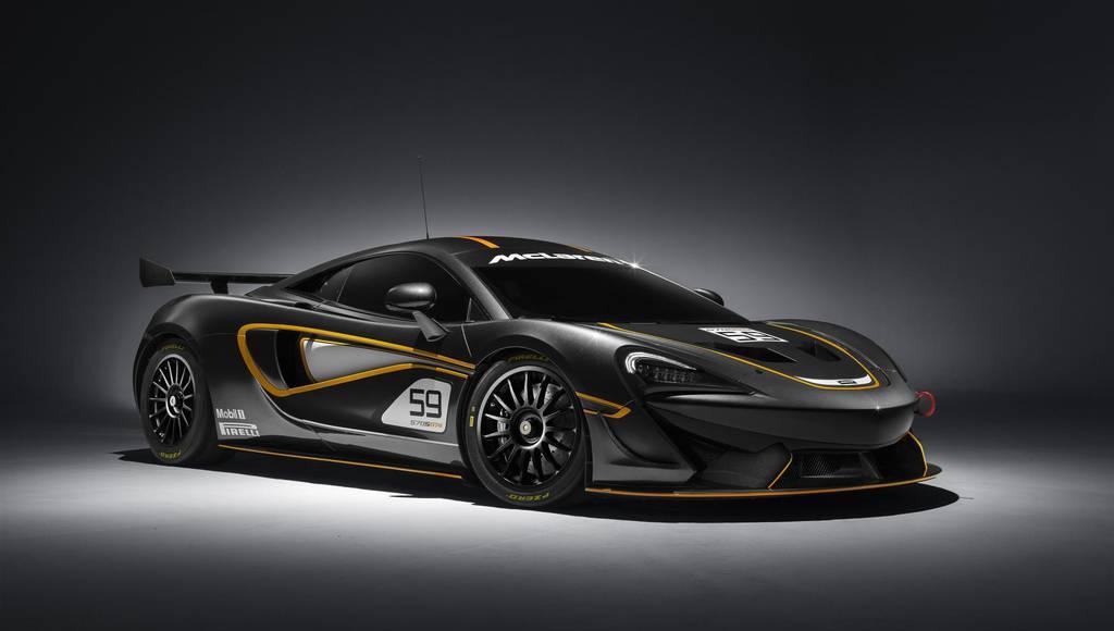 McLaren 570S GT4 announced ahead UK track debut