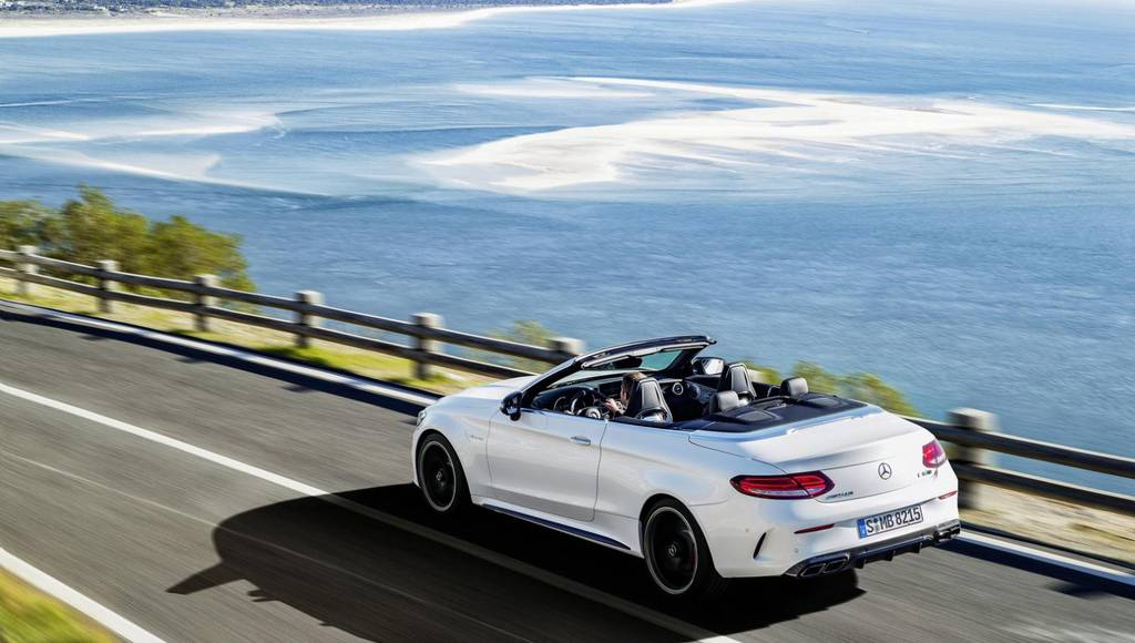 Mercedes C63 AMG Cabriolet unveiled in New York