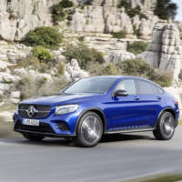 Mercedes GLC Coupe officially unveiled