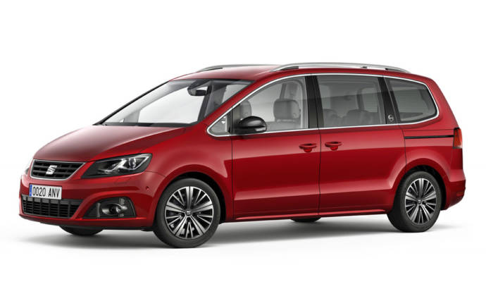 Seat Alhambra 20th Anniversary unveiled