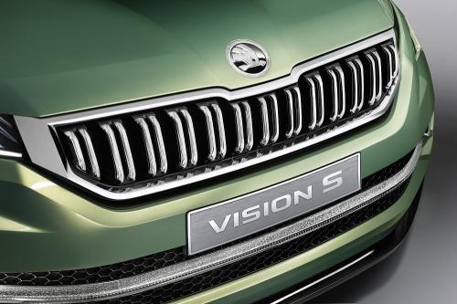 Skoda VisionS complete details