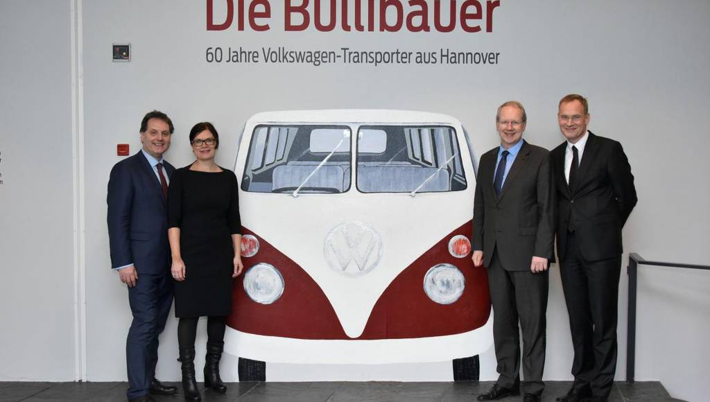 Volkswagen Hannover celebrates 60 years since building the first Bulli