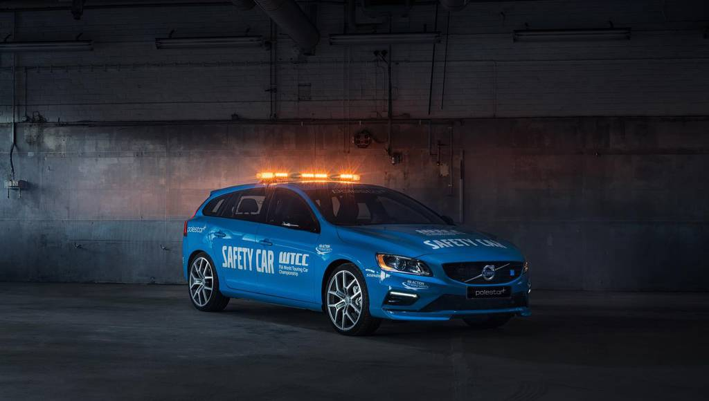 Volvo V60 Polestar announced as WTCC safety car