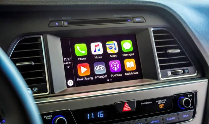 2016 Hyundai Sonata receives CarPlay support