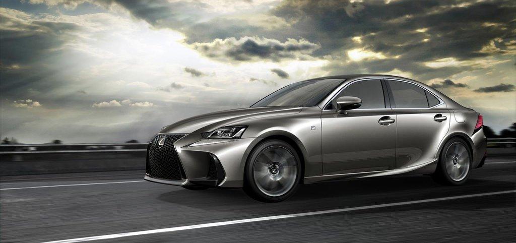 2016 Lexus IS facelift introduced in Beijing