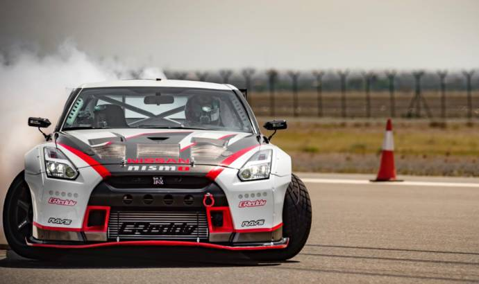 2016 Nissan GT-R Nismo sets the record for the fastest drift