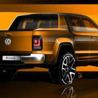2016 Volkswagen Amarok facelift - First official sketches
