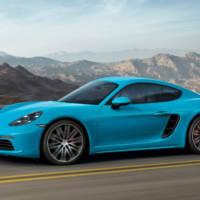 2017 Porsche 718 Cayman photos and pricing announced