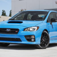 2017 Subaru WRX STI model available in the US