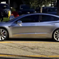 2017 Tesla Model 3 - First real life pictures and video