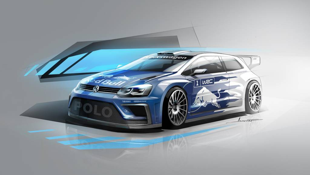 2017 Volkswagen Polo R WRC detailed